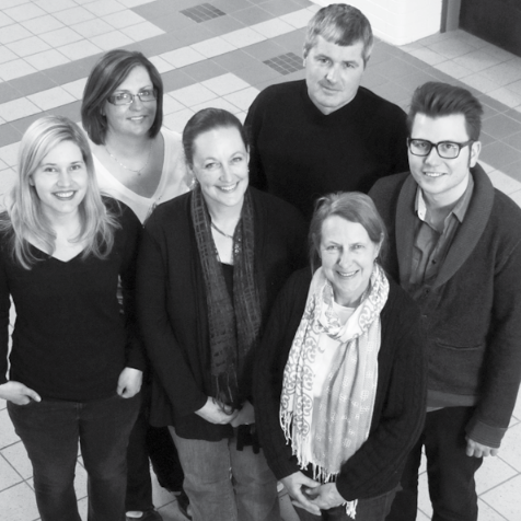 Members of Edmonton Heritage Council's charter staff, c. 2009