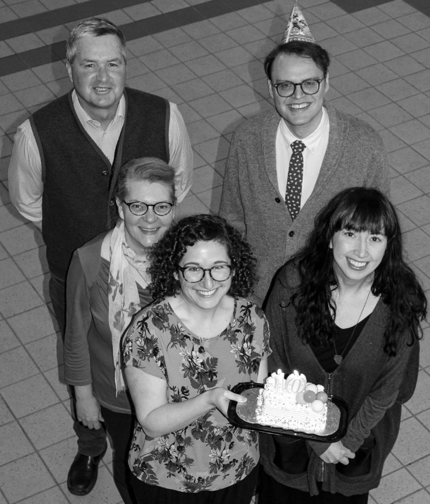 Members of Edmonton Heritage Council's current staff, 2019